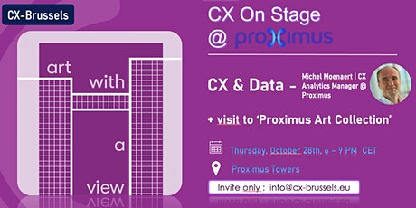 CX and Data at the Proximus Towers(Hosted by CX Brussels) tickets