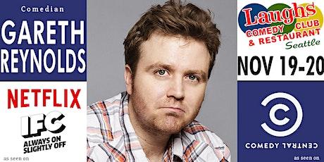 Comedian Gareth Reynolds tickets
