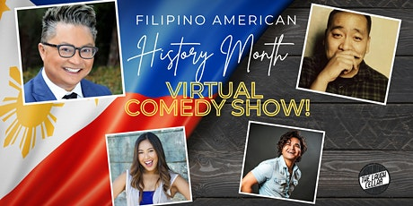 Filipino American History Month Virtual Comedy Show tickets