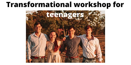 Transformational workshop for Teenagers tickets