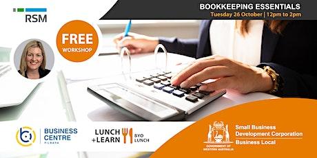 Bookkeeping Essentials (Karratha) tickets