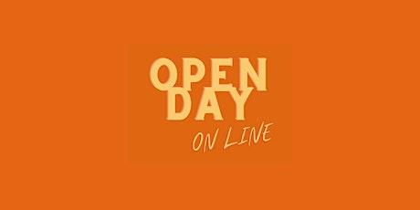 OPEN DAY ON LINE - INCONTRO GENITORI biglietti