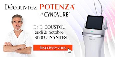 Découverte du Potenza à Nantes - Jeudi 21 octobre 19h30 billets