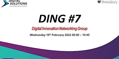 Digital Innovation Networking Group (DING) #7 tickets
