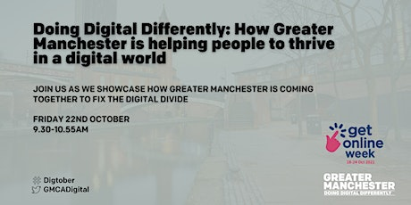 How Greater Manchester is helping people to thrive in a digital world biglietti