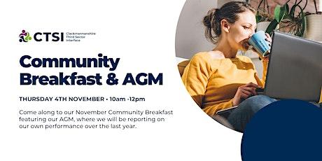 Community Breakfast & AGM tickets