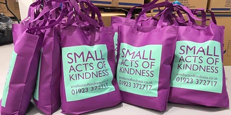 Bags of Kindness - Volunteer packing days tickets