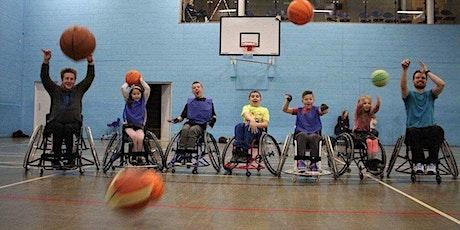 Wheelchair basketball taster (Stafford) tickets