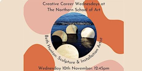 Industry Speaker: Beth Hunton: Sculpture & Installation Artist tickets