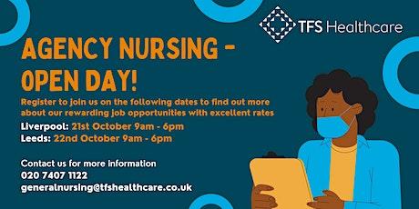 Leeds Open Day - Nursing Agency tickets