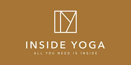 16.10. Inside Yoga Kursplan - Samstag Tickets