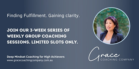 Deep Mindset Coaching for High Achievers tickets