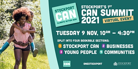 Stockport 'Climate Action Now' Summit tickets