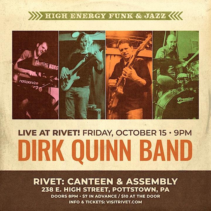 Dirk Quinn Band at Rivet! image