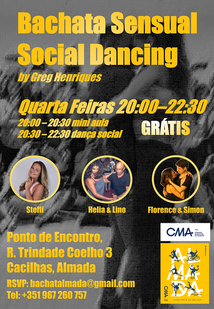 Bachata Sensual Social Dancing image