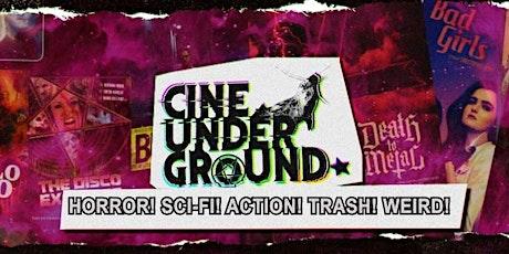 Cine Underground Film Fest biglietti
