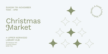 Free Christmas Market in Crystal Palace tickets