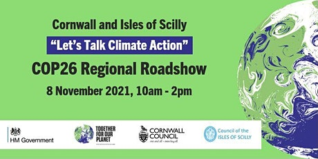 Let's Talk Climate Action Cornwall and Isles of Scilly tickets