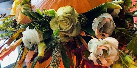 Community floristry workshop: Halloween pumpkins tickets