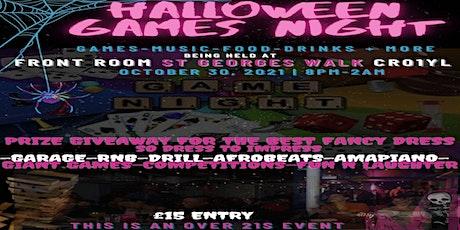Halloween Games Night tickets