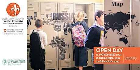 Media del Collegio Vescovile Sant'Alessandro / Open Day biglietti