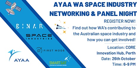 Space Industry Panel and Networking Night - AYAA Western Australia tickets