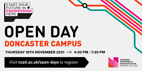 NCATI Open Day - Doncaster tickets