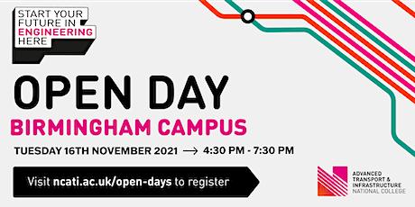 NCATI Open Day - Birmingham tickets