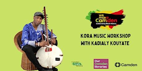 Black History Season: Kora Music Workshop with Kadialy Kouyate tickets