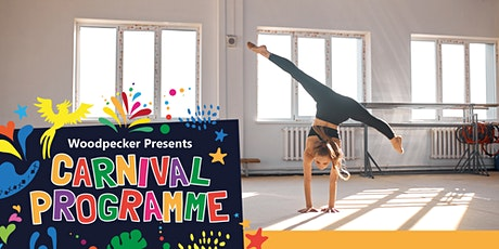 Gymnastics and Cheer workshop | The Woodpecker Carnival Programme tickets
