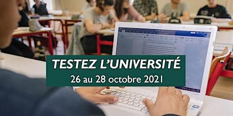 TESTEZ L'UNIVERSITÉ UCO Laval - 26 au 28 octobre 2021 billets