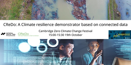 CReDo: A climate resilience demonstrator based on connected data tickets