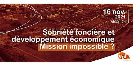 Sobriété foncière et développement économique, Mission impossible ? billets