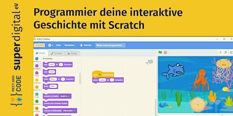 Programmier deine eigene interaktive Geschichte mit Scratch Tickets