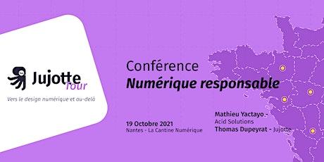 Conférence : Le Numérique Responsable billets