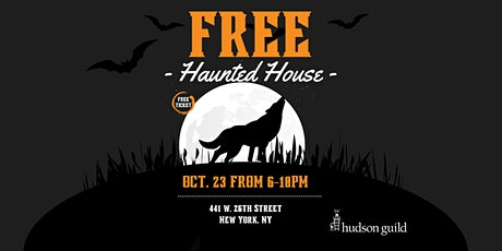 Free Haunted House by Hudson Guild tickets