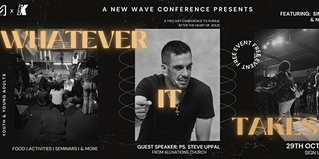 New wave Conference- Whatever it takes - Saturday tickets