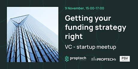 Getting your funding strategy right: VC - startup meetup tickets