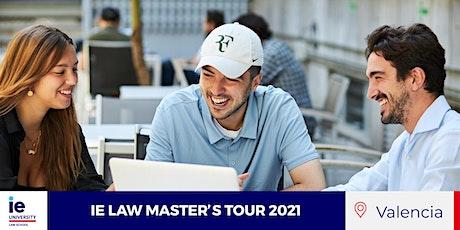 IE LAW MASTER'S TOUR 2021 – VALENCIA entradas