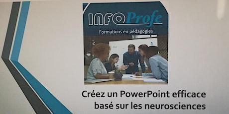 Formation Comment créer efficacement vos PowerPoint grâce aux neurosciences billets