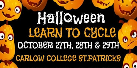 Halloween Learn to Cycle tickets