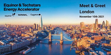 Equinor & Techstars Energy Accelerator Meet & Greet, London tickets