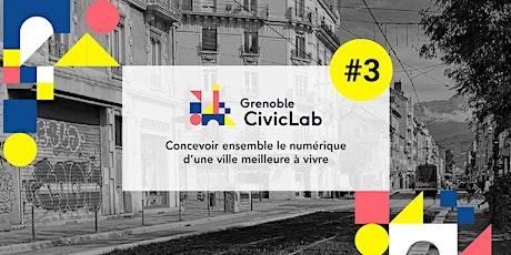 Soirée de lancement Grenoble CivicLab #3 billets