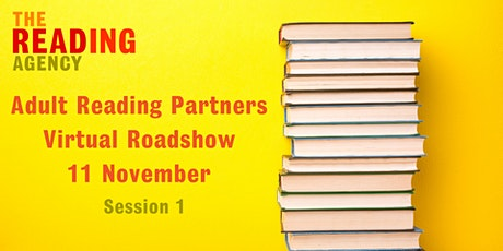 Adult Reading Partners Virtual Roadshow - Session One tickets