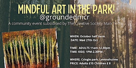 Mindful Art in the park! tickets