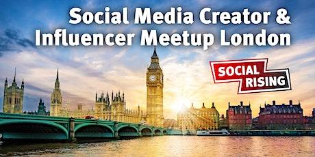 Social Media Creator & Influencer Meetup London #2 tickets