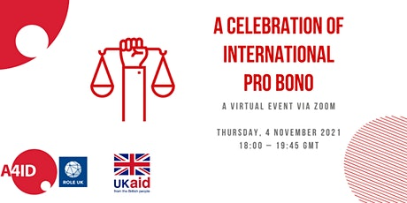 A Celebration of International Pro Bono- 2021 tickets