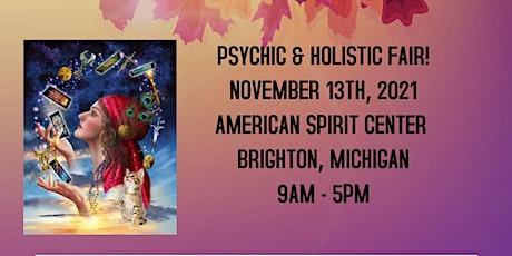 Psychic & Holistic Fair in Brighton @ the American Spirit Center! tickets