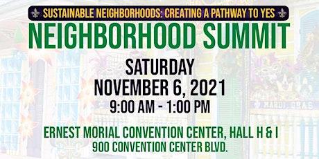 2021 Neighborhood Summit tickets