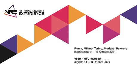 VRE - Virtual Reality Experence  2021 Official Selection 14 - 16 ottobre tickets